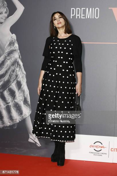 Monica Bellucci attends The Virna Lisi Award at Auditorium Parco Della Musica on November 7 2017 in Rome Italy