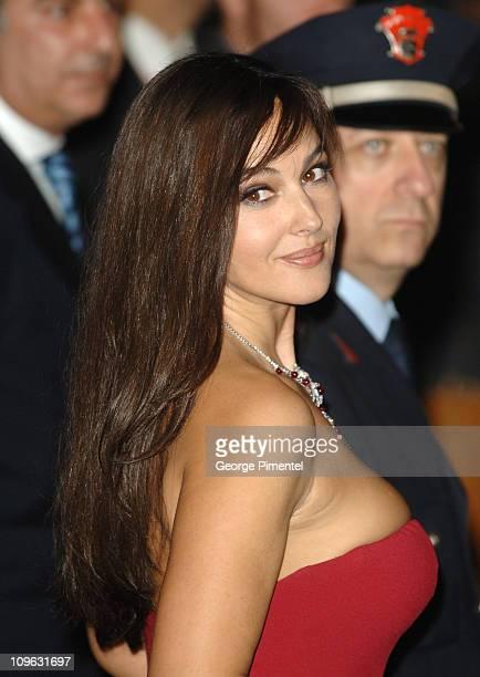 Monica Bellucci during 1st Annual Rome Film Festival 'Napoleon and Me' Premiere Arrivals at Auditorium Parco della Musica in Rome Italy