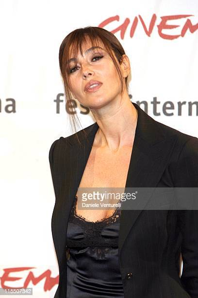 Monica Bellucci during 1st Annual Rome Film Festival 'The Stone Council' Photocall at Auditorium in Roma Italy