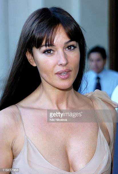 Monica Bellucci during 2005 Venice Film Festival Sightings at Des Bain Hotel at Des Bain Hotel in Venice Italy