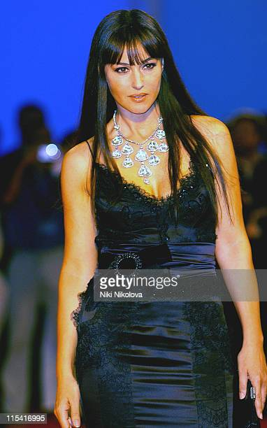 Monica Bellucci during 2005 Venice Film Festival 'The Brothers Grimm' Premiere at Palazzo del Cinema in Venice Italy