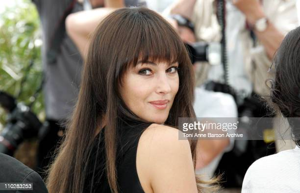 Monica Bellucci during 2006 Cannes Film Festival - Jury Photo Call at Palais du Festival in Cannes, France, France.