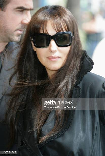 Monica Bellucci during 2006 Cannes Film Festival 'Le Deuxieme Souffle' Photo Call at Carlton Hotel in Cannes France