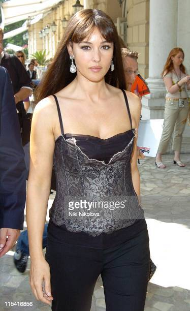 Monica Bellucci during 62nd Annual Venice Film Festival Sightings Outside Des Bain Hotel September 4 2005 at Des Bain Hotel in Venice Italy