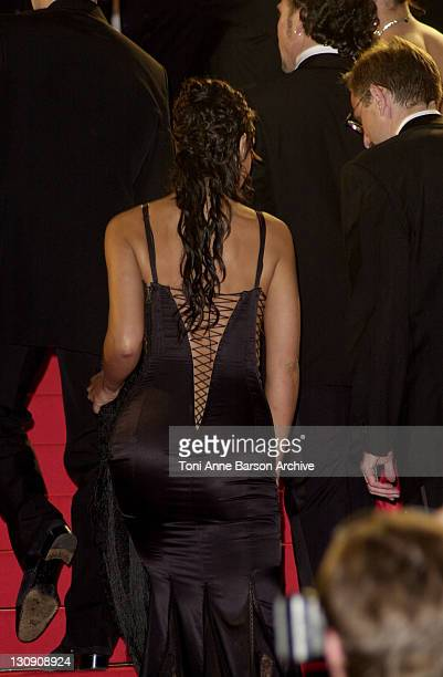 """Monica Bellucci during Cannes 2002 - """"Irreversible"""" Premiere at Palais des Festivals in Cannes, France."""