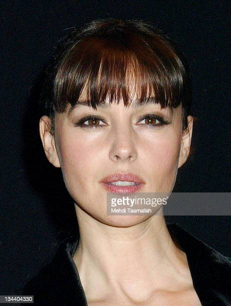 Monica Bellucci during 'Combien tu m'aimes' Paris Premiere at New Cineclub in Paris France
