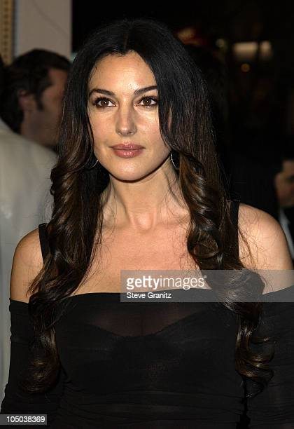 Monica Bellucci during 'Tears Of The Sun' Premiere at Mann's Village in Westwood California United States