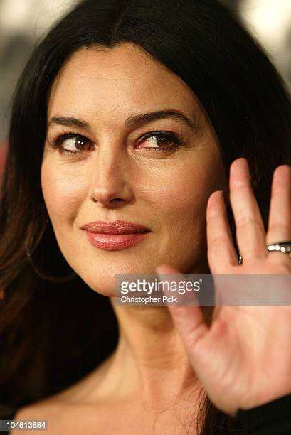 Monica Bellucci during 'Tears Of The Sun' Special Screening Arrivals at Mann's Village in Westwood CA United States