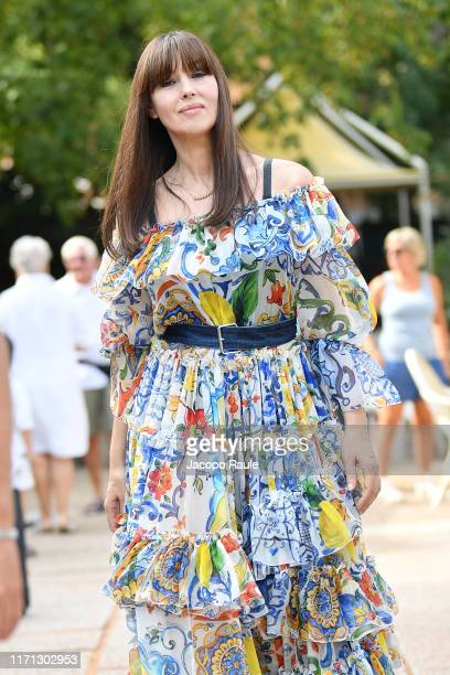 Monica Bellucci is seen arriving at the 76th Venice Film Festival on August 31 2019 in Venice Italy
