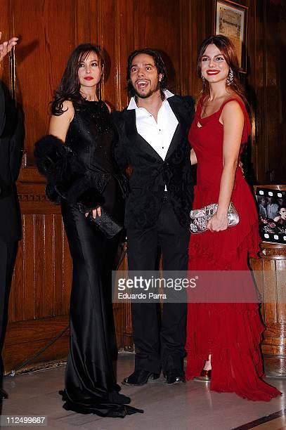 Monica Bellucci, Joaquin Cortes and his girlfriend Marisa Jara