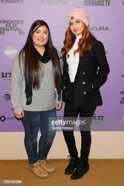 Monica Betancourt and Kailei Lopez attend the 2020 Sundance Film Festival La Leyenda Negra Premiere at Egyptian Theatre on January 27 2020 in Park...