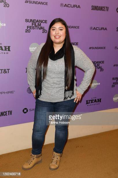 Monica Betancourt attends the 2020 Sundance Film Festival La Leyenda Negra Premiere at Egyptian Theatre on January 27 2020 in Park City Utah