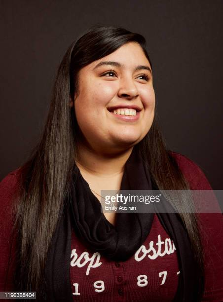 Monica Betencourt from La Leyenda Negra poses for a portrait at the Pizza Hut Lounge on January 24 2020 in Park City Utah