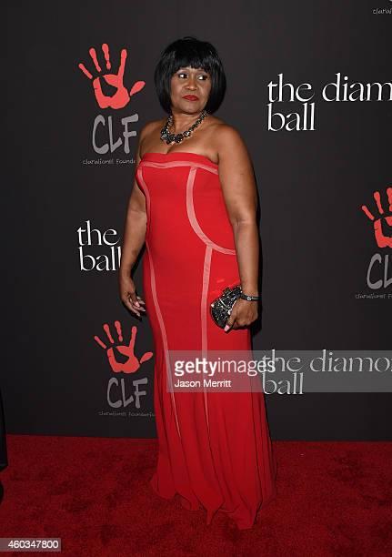 Monica Braithwaite attends Rihanna's 1st Annual Diamond Ball Benefitting The Clara Lionel Foundation at The Vineyard on December 11 2014 in Beverly...