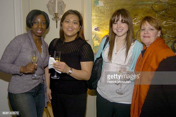 Monica C Grace Alonso Brook Denley and Jacqui Farina attend MICHAEL S SMITH AGRARIA COLLECTION LAUNCH at Lowell Hotel on April 18 2007