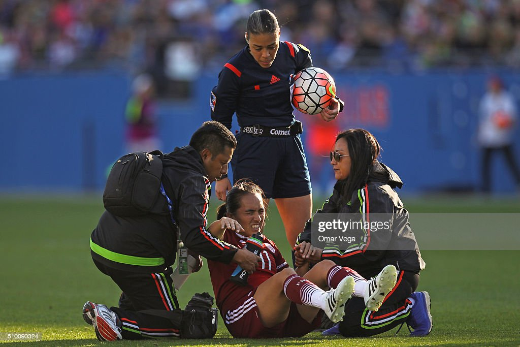 United States v Mexico: Group A - 2016 CONCACAF Women's Olympic Qualifying : News Photo