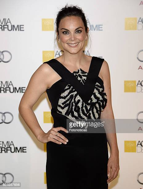 Monica Carrillo attends the 'IX Academia del Perfume Awards' photocall at Casa de America on April 26 2016 in Madrid Spain