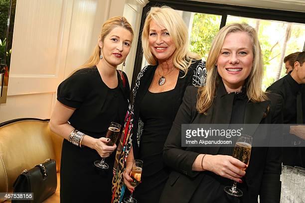 Monica Cociu Lori Thomas and LA Confidential's Elizabeth Moore attend LA Confidential and Ballroom Marfa Honoring LA's Prominent And Emerging Artists...
