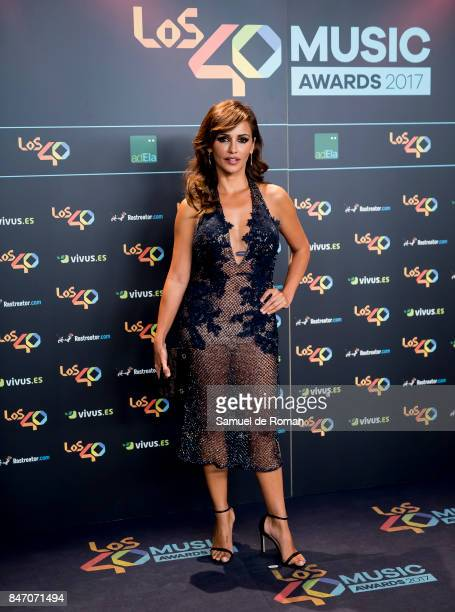 Monica Cruz attends 40 Principales Awards candidates dinner 2017 on September 14 2017 in Madrid Spain