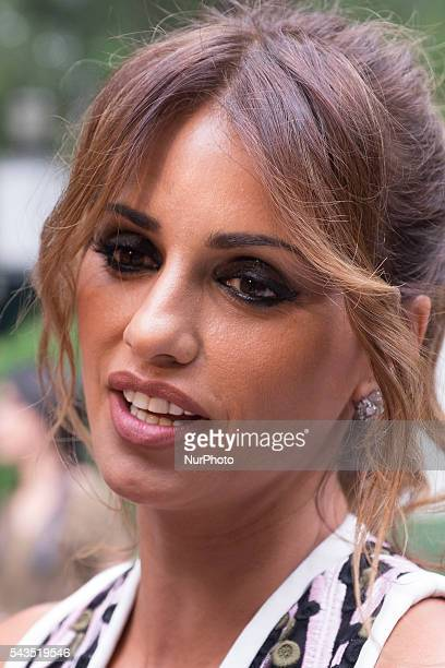 Monica Cruz attends 'Blue Label Awards' at Residence of the Ambassador of United Kingdom in Spain on June 28 2016 in Madrid Spain