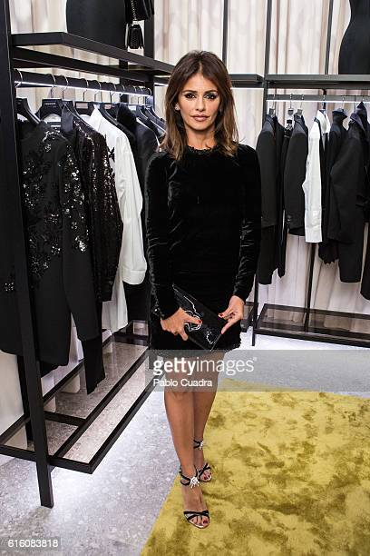 Monica Cruz attends the Dsquared2 Opening Cocktail in the new Madrid store on October 21 2016 in Madrid Spain