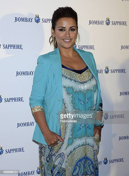 Monica Cruz attends the launch of Bombay Sapphire 'On Board' at the Palacio de Cibeles on June 5 2013 in Madrid Spain
