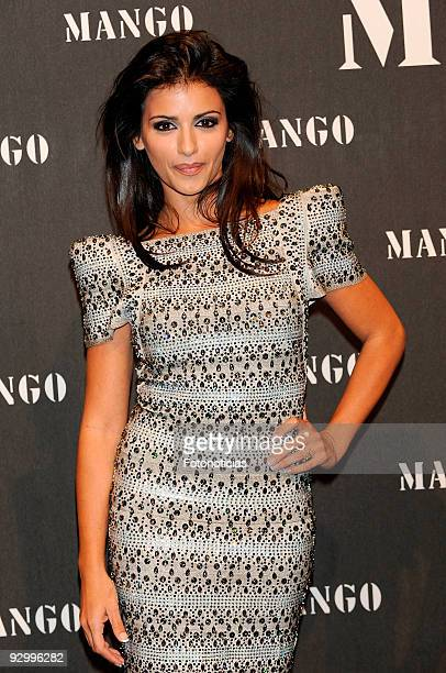 Monica Cruz attends the launch party of the Mango collection at the Caja Magica on November 11 2009 in Madrid Spain