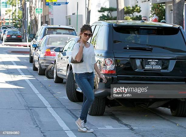 Monica Cruz is seen on February 02 2011 in Los Angeles California
