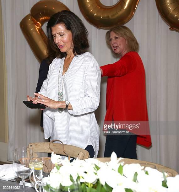 Monica Dahl SVP Marketing Omnichannel PR attends the Diane Gilman Christopher Banks Host Dinner To Celebrate UltraLux Collection Launch held at NoMo...