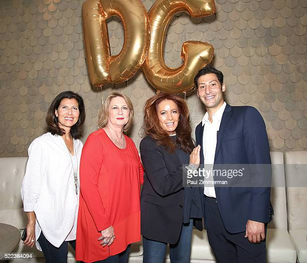Monica Dahl SVP Marketing Omnichannel PR LuAnn Via President CEO Christopher Banks fashion designer Diane Gilman and Taylor Shapiro President Sunrise...