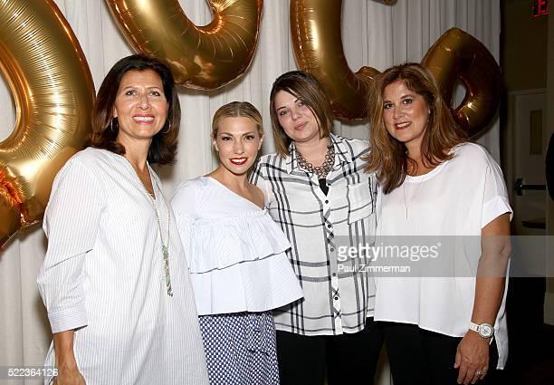 Monica Dahl SVP Marketing Omnichannel PR Melissa Garcia Aemlia Hultman Merchandise Manager and Tricia Perket VP DGMM attend the Diane Gilman...
