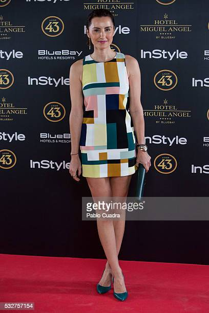 Monica de Tomas attends the 'Live in Colors' photocall during the InStyle Beauty Day at the Miguel Angel Hotel Garden on May 19 2016 in Madrid Spain