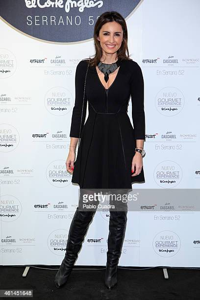 Monica de Tomas attends the 'New Gourmet Experience' opening party at 'El Corte Ingles' store on January 12 2015 in Madrid Spain