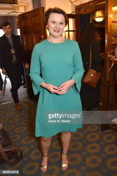 Monica Dolan arrives at the press night performance of 'Consent' at the Harold Pinter Theatre on May 29 2018 in London England