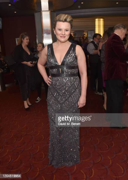 Monica Dolan attends The WhatsOnStage Awards 2020 at The Prince of Wales Theatre on March 1 2020 in London England