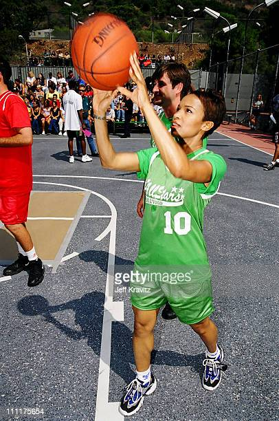 Monica during 1998 MTV's Rock n' Jock Basketball in Los Angeles California United States