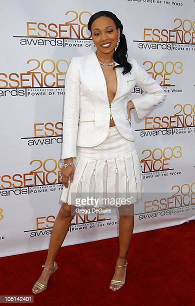 Monica during 2003 Essence Awards Arrivals at Kodak Theatre in Hollywood California United States