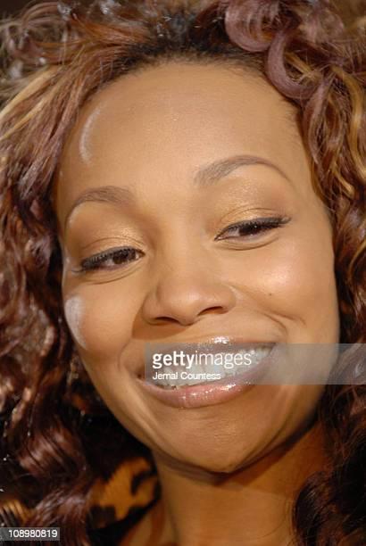 Monica during 2006 BET Hip-Hop Awards - Black Carpet at Fox Theatre in Atlanta, Georgia, United States.