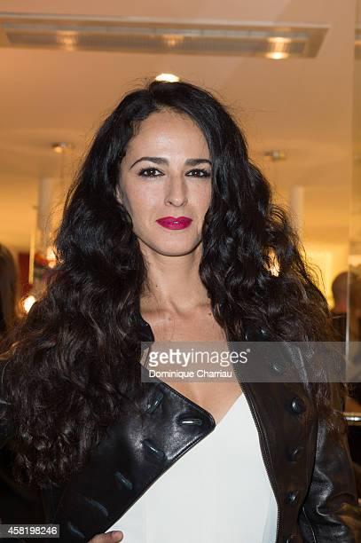 Monica Estarreado attends the 'Dolores Promesas' Opening Store in Paris on October 31 2014 in Paris France