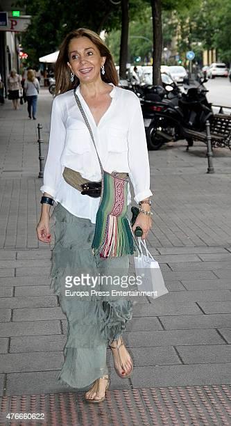 Monica Fernandez de Valderrama attends the babyshower party of Gemma RuizCuadrado on June 10 2015 in Madrid Spain