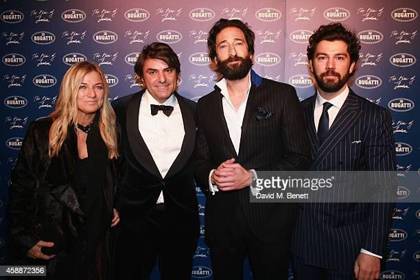 Monica FerrariMassimiliano Ferrari Managing Director Branded Goods Bugatti International and Bentley Motors Adrian Brody and Bugatti Head of Brand...