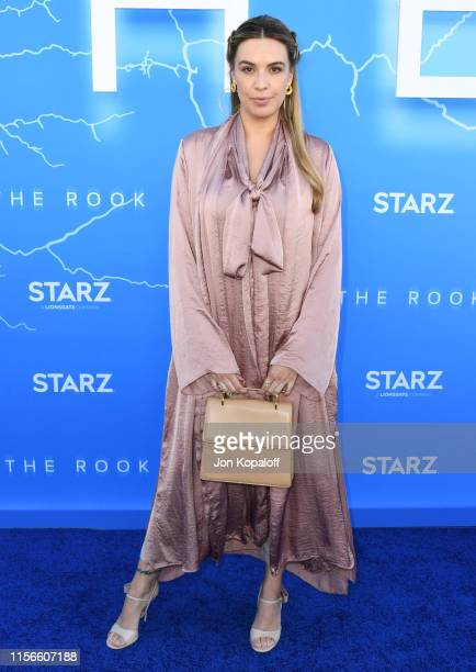 "Monica Fonseca attends LA Premiere Of Starz's ""The Rook"" at The Getty Museum on June 17, 2019 in Los Angeles, California."