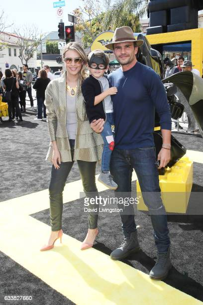 Monica Fonseca Joaquin Raba Fonseca and Juan Pablo Raba attend the Premiere of Warner Bros Pictures' 'The LEGO Batman Movie' at the Regency Village...