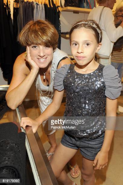 Monica Foreman and Bella Cuomo attend CARLOS FALCHI JEFFREY THORPE Host A TwoDay Presentation at Magaschoni on July 23 2010 in Southampton NY