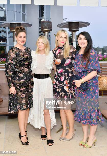 Monica Gambee Ali Larter Molly Sims and Estee Stanley attend Aerin Lauder Crystal Lourd and Jennifer Meyer Host a Dinner in Celebration of the AERIN...
