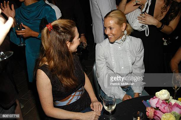 Monica Harel and Maria Bello attend Columbia Pictures and CHANEL present a Special Screening of Marie Antoinette After Party at Arclight Cinemas on...