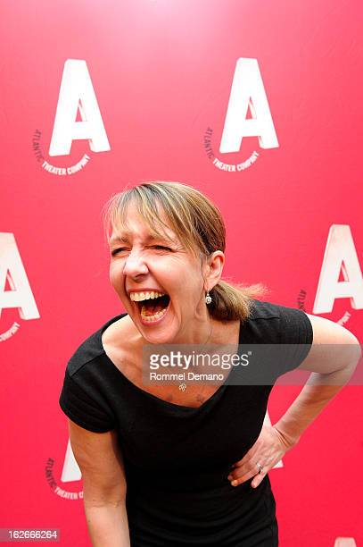Monica Horan attends Atlantic Theater Company Spring Gala at 583 Park Avenue on February 25 2013 in New York City
