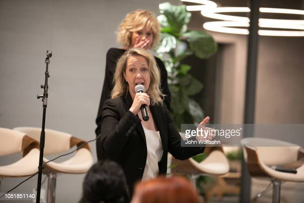 Monica Horan attends benefit in support of workers' rights The Riveter cohosts a special event with InStyle in support of One Fair Wage a project of...