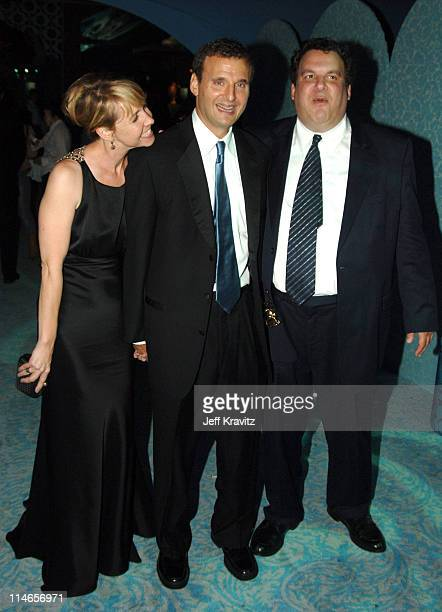 Monica Horan Phil Rosenthal and Jeff Garlin during 57th Annual Primetime Emmy Awards HBO After Party at Pacific Design Center in West Hollywood...