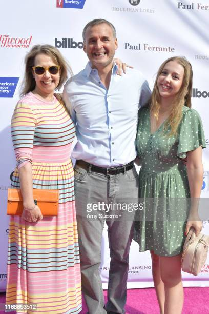 Monica Horan Philip Rosenthal and Lily Rosenthal attend American Cancer Society's California Spirit 34 Food and Wine Benefit at Sony Pictures Studios...